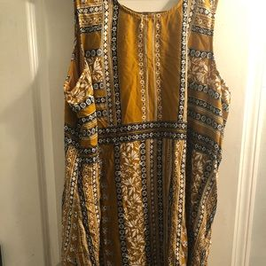 Yellow Maurice's dress size 3 NEW WITH TAGS